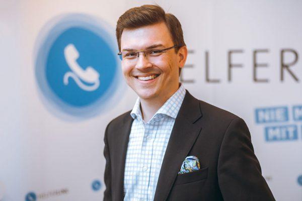 Clemens Schmidgruber (CEO HELFERLINE)